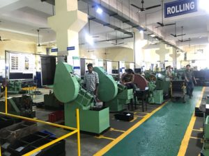 Mohindra Products Faridabad IMT Fasteners Manufacturer Rolling section