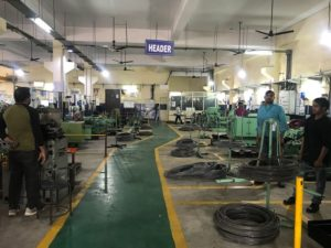Mohindra Products Faridabad IMT Fasteners Manufacturer Header operations