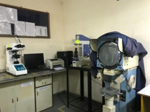 Mohindra Products Faridabad IMT Fasteners Manufacturer Testing Room